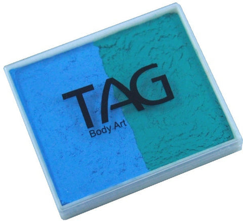 Tag split cake - Teal/Light blue 50gm