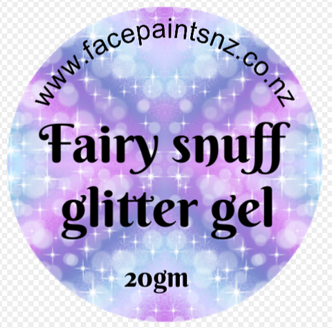 Fairy Snuff GLITTER GEL 20gm