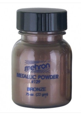 Mehron Metallic powder - Bronze 22gm