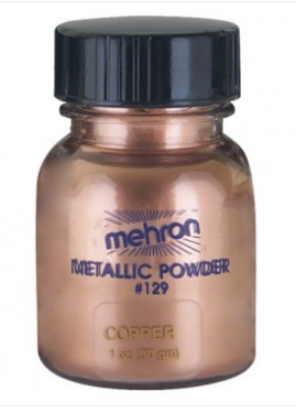 Mehron Metallic powder - Copper 30gm