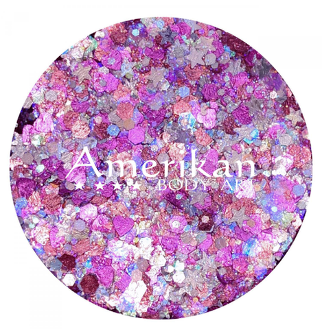 Amerikan body art Glitter creme - Cupid