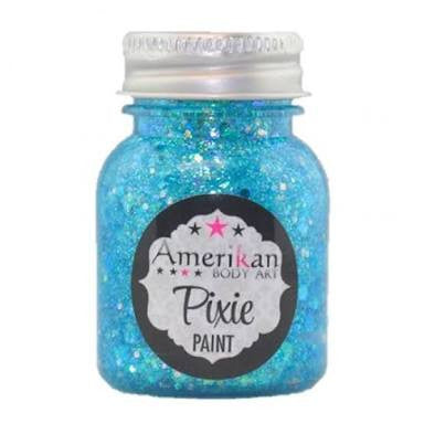 Amerikan body art Pixie paint - Blue Monday 1oz (28gm)