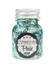 Amerikan body art Pixie paint splash