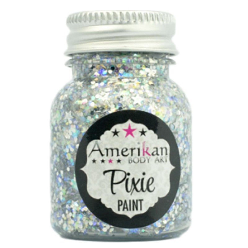 Amerikan body art Pixie paint - Xanadu (silver) 1oz (28gm)