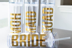 Bridal Party Custom and Personalized Bachelorette Tumbler