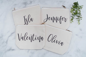 Bridesmaid Proposal Cosmetic Bag