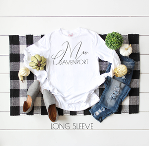 Mrs. Long Sleeve Sweatshirt