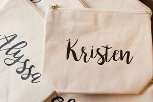 Personalized and Custom Cosmetic Toiletries Bag