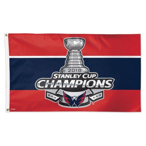 2018 Stanley Cup Champs Washington Capitals 3x5ft Deluxe Flag