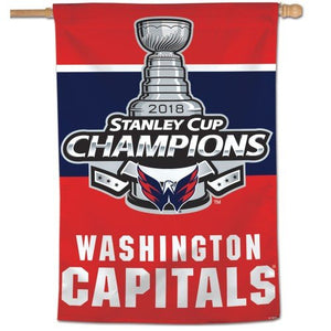 2018 Stanley Cup Champs Washington Capitals House Flag