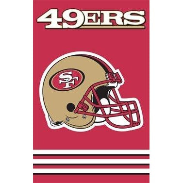 San Francisco 49ers House Sewn Flag 2 Sided
