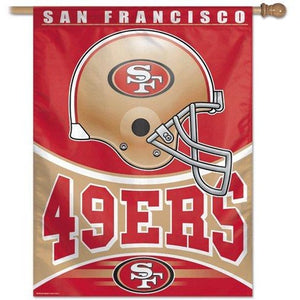 San Francisco 49ers House Flag
