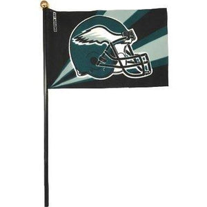 Philadelphia Eagles 4x6in Stick Flag