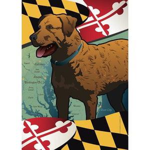 Maryland w/ Chessie - House Flag