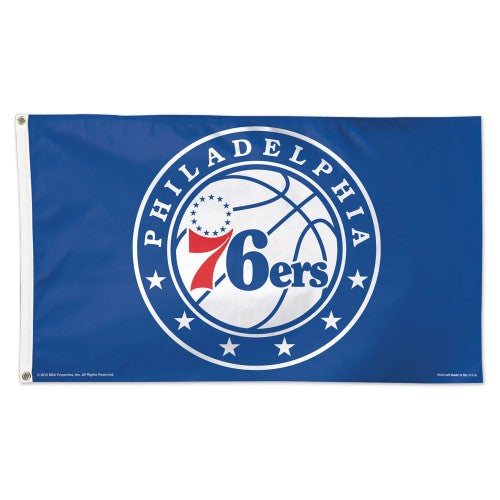 Philadelphia 76ers 3x5ft Deluxe Flag