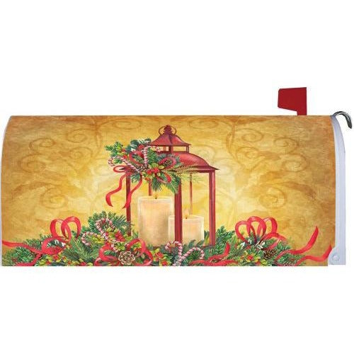 Christmas Lantern II Standard Mailbox Cover