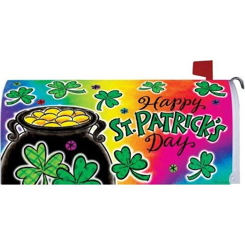 Pot of Gold II Standard Mailbox Cover