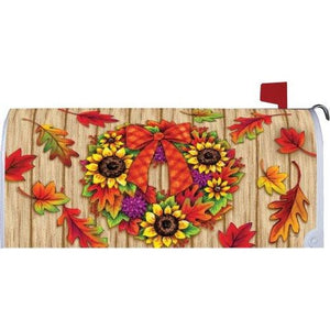 Fall Adirondack Standard Mailbox Cover - FlagsOnline.com by CRW Flags Inc.