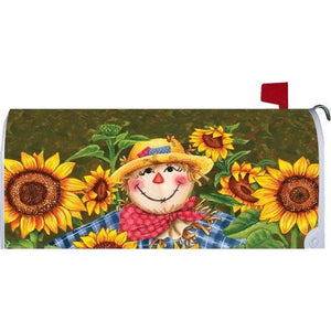 Plaid Scarecrow Standard Mailbox Cover - FlagsOnline.com by CRW Flags Inc.