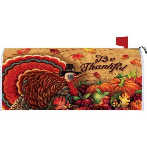 Be Thankful Standard Mailbox Cover