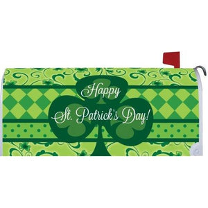 St. Pat's Clover Standard Mailbox Cover - FlagsOnline.com by CRW Flags Inc.