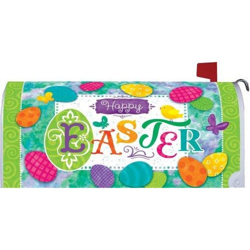 Easter Eggs Standard Mailbox Cover