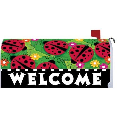 Ladybugs Standard Mailbox Cover