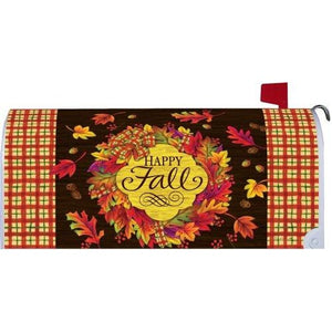 Fall Wreath Standard Mailbox Cover - FlagsOnline.com by CRW Flags Inc.