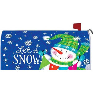 Snow Banner Standard Mailbox Cover - FlagsOnline.com by CRW Flags Inc.