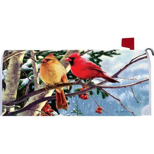 Cardinal Branch Standard Mailbox Cover - FlagsOnline.com by CRW Flags Inc.