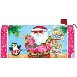 Santa Vacation Standard Mailbox Cover - FlagsOnline.com by CRW Flags Inc.