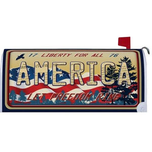 Scenic America Standard Mailbox Cover - FlagsOnline.com by CRW Flags Inc.
