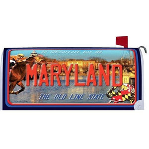 Scenic Maryland Standard Mailbox Cover - FlagsOnline.com by CRW Flags Inc.
