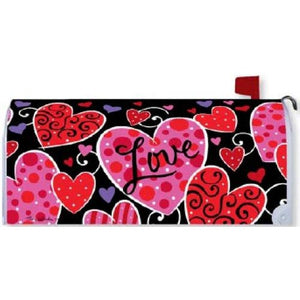 Valentines Love Standard Mailbox Cover - FlagsOnline.com by CRW Flags Inc.