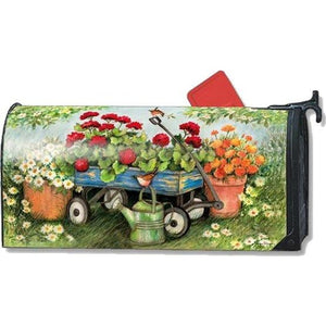 Geraniums by the Dozen Standard Mailbox Cover - FlagsOnline.com by CRW Flags Inc.
