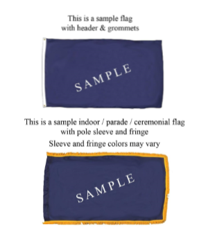 Customized Printed Nylon Flag