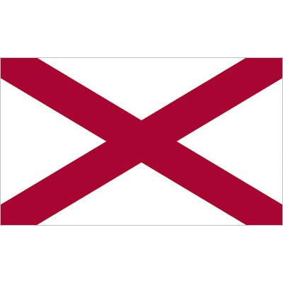 Alabama Flag - Industrial Polyester