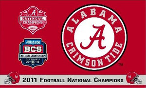 University of Alabama 2011 Champs 3x5ft Flag