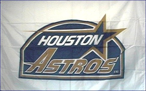 Houston Astros 3x5ft Flag