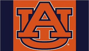 Auburn University Car Flag 2 Sided