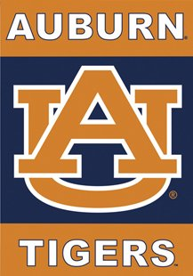 Auburn University House Flag 2 Sided