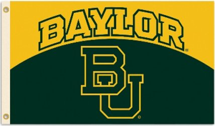 Baylor University 3x5ft Flag
