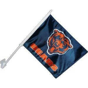 Chicago Bears Car Flag 2 Sided