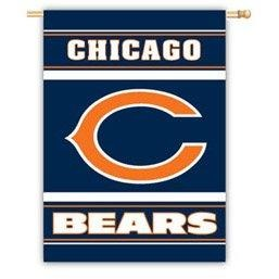 Chicago Bears House Flag 2 Sided