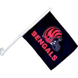 Cincinnati Bengals Car Flag 2 Sided
