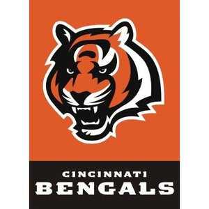Cincinnati Bengals House Flag 2 Sided