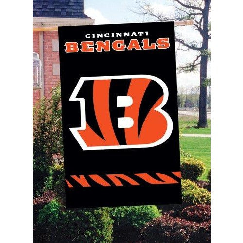 Cincinnati Bengals House Sewn Flag 2 Sided