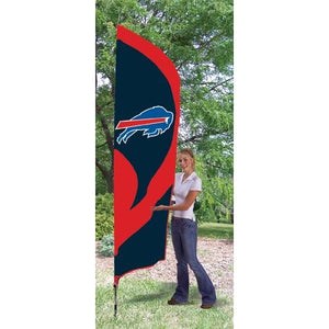 Buffalo Bills 8ft Feather Sewn Flag Kit
