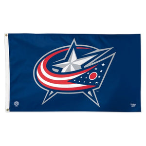 Columbus Blue Jackets 3x5ft Deluxe Flag