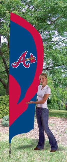 Atlanta Braves 8ft Feather Flag Kit